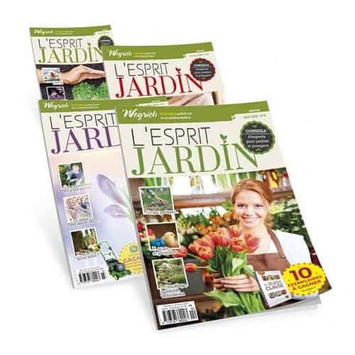 L'Esprit Jardin (Abonnement) 35€/an pour 11 numéros