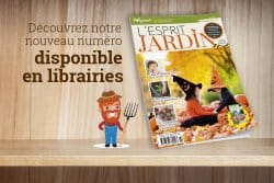 Pleins de bons conseils, le nouveau numéro de L'Esprit Jardin vous attend dans votre librairie préférée !