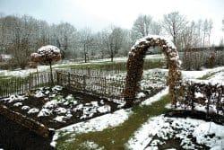 De l'importance de la neige dans nos jardins