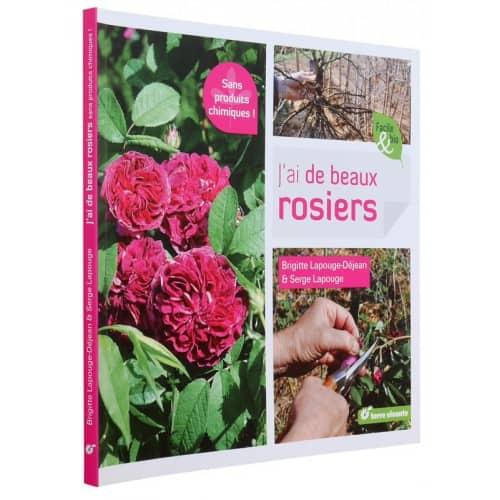 « J'ai de beaux rosiers sans produits chimiques » est disponible en librairie et sur notre e-shop.