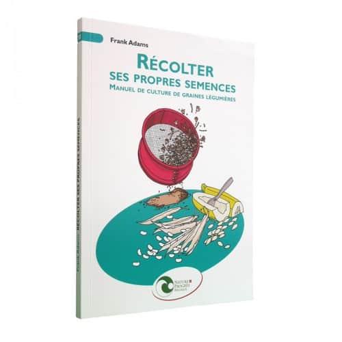 « Récolter ses propres semences » de Frank Adams (12,70€) est disponible en librairies et sur notre e-shop.