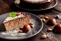 Un gâteau aux délices des sous-bois
