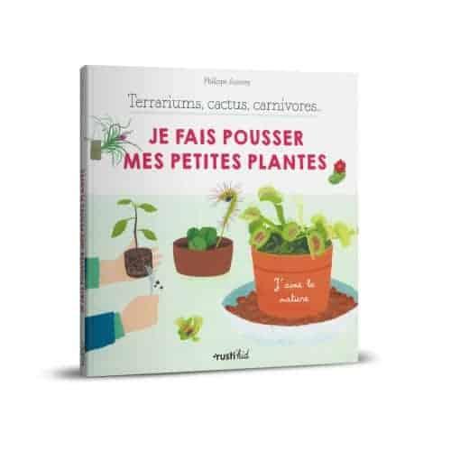 « Je fais pousser mes petites plantes » de Philippe Asseray, Charlène Tong est disponible en librairies et sur notre e-shop.