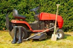L'entretien de mon tracteur-tondeuse