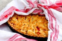 Tarte ou crumble aux fruits du verger