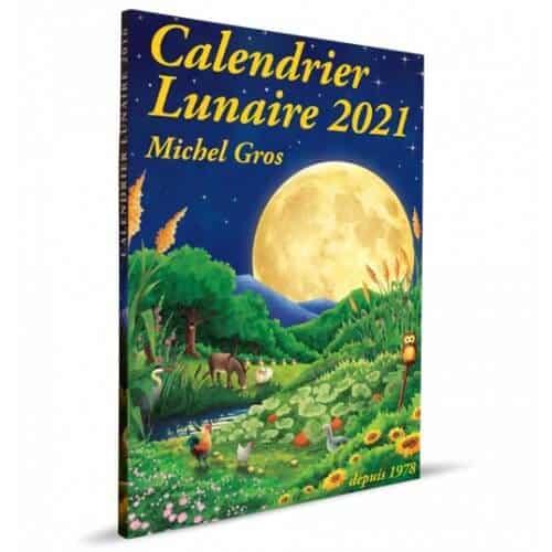 « Calendrier lunaire 2021 » de Michel Gros est disponible en librairies et sur notre e-shop au prix de 8,70€.