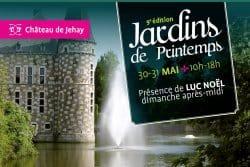9e édition des Jardins de printemps au Château de Jehay