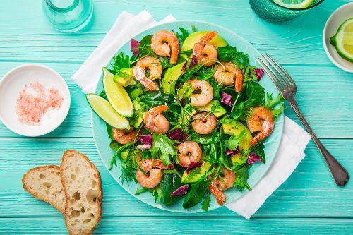 Salade de coriandre et avocat
