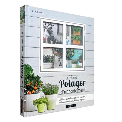 « Mon potager d'appartement », disponible en librairies et sur notre e-shop.
