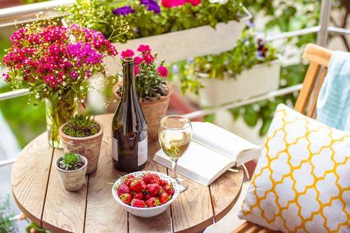 Une terrasse pour fêter l'été !